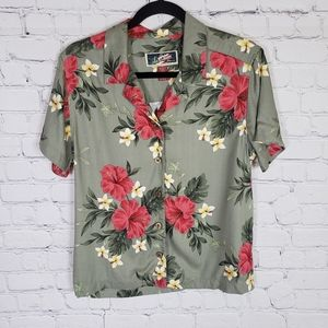 La Cabana hawaiian button down shirt